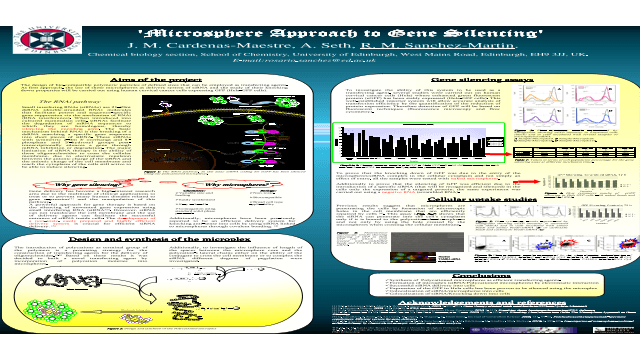 Microsphere Approach to Gene Silencing
