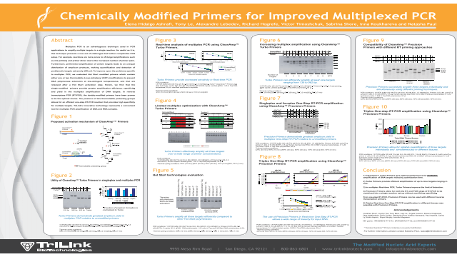 Chemically Modified Primers for Improved Multiplex PCR
