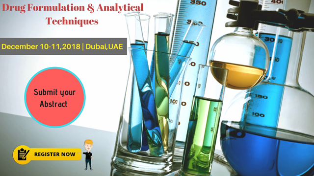 10th Annual Congress on Drug Formulation & Analytical Techniques