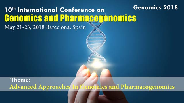10th International Conference on Genomics and Pharmacogenomics