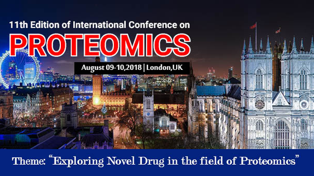 11th Edition of International Conference on Proteomics 2018