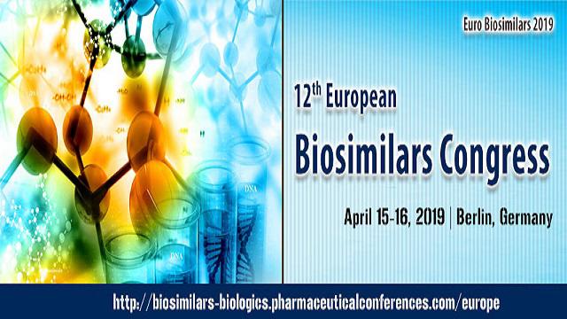 12th European Biosimilars Congress 2019
