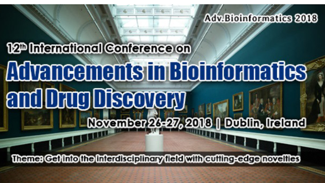 12th International Conference on Advancements in Bioinformatics and Drug Discovery