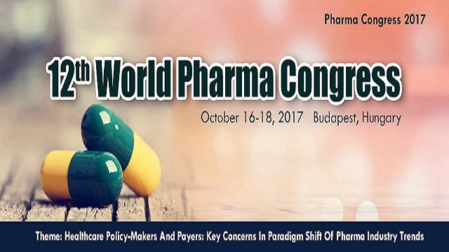 12th World Pharma Congress 2017	Conference Series