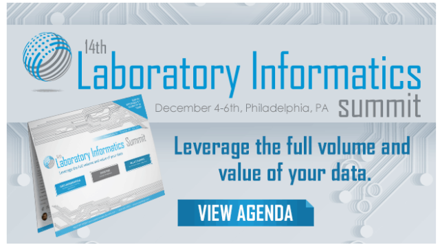 14th Laboratory Informatics Summit