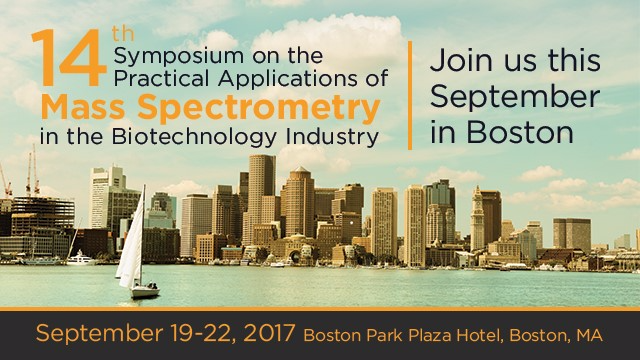 14th Symposium on the Practical Applications of Mass Spectrometry in the Biotechnology Industry
