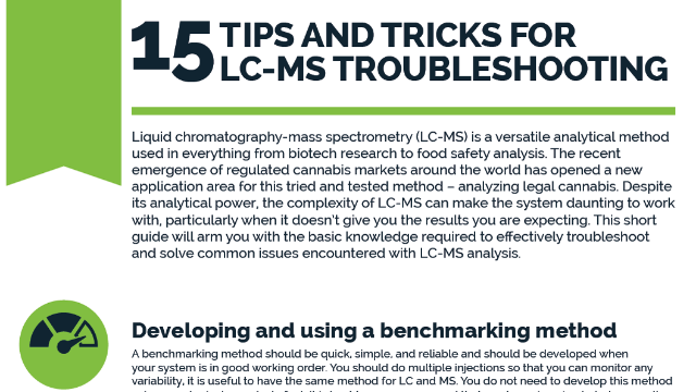 15 Tips and Tricks for LC-MS Troubleshooting