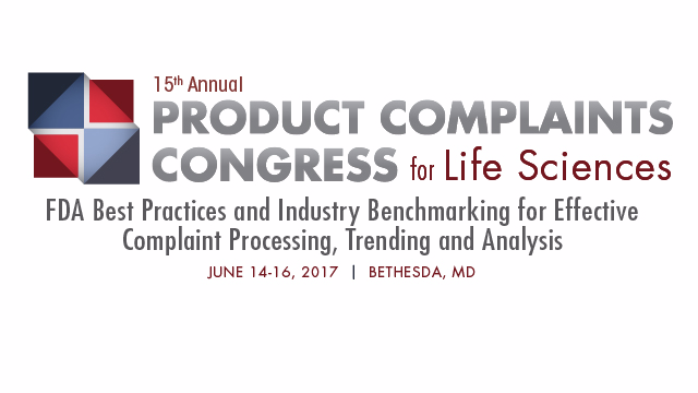 15th Annual Product Complaints Congress