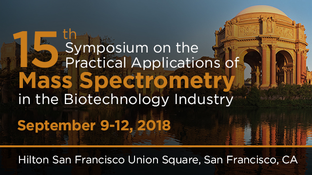 15th Symposium on the Practical Applications of Mass Spectrometry in the Biotechnology Industry