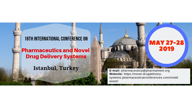 18th International Conference on Pharmaceutics & Novel Drug Delivery Systems