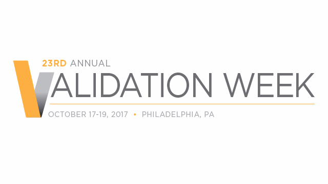 23rd Annual Validation Week