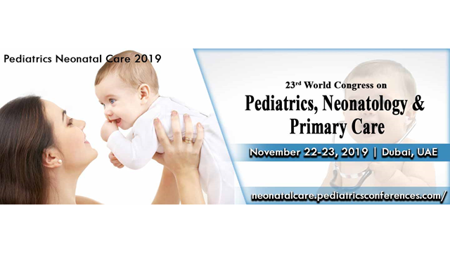 23rd World Congress on  Pediatrics, Neonatology & Primary Care