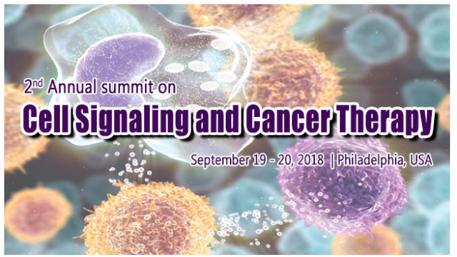 2nd Annual Summit on Cell Signaling and Cancer Therapy 2018