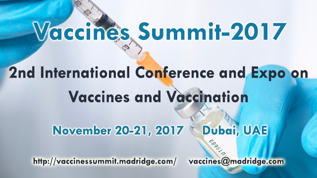 2nd International Conference and Expo on Vaccines and Vaccination