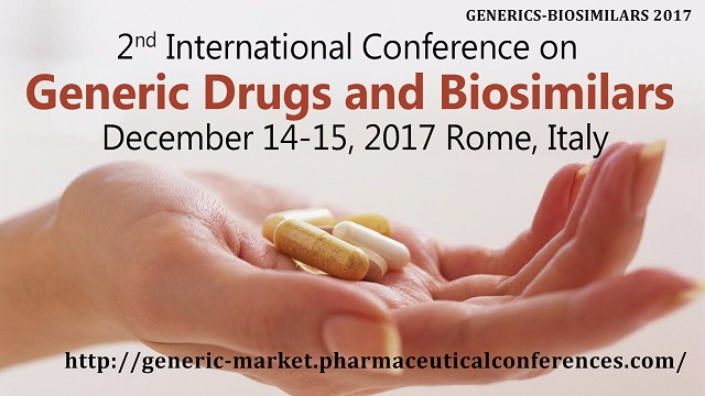 2nd International Conference on Generic Drugs and Biosimilars