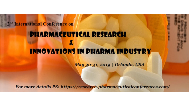 2nd International Conference on Pharmaceutical Research & Innovations in Pharma Industry