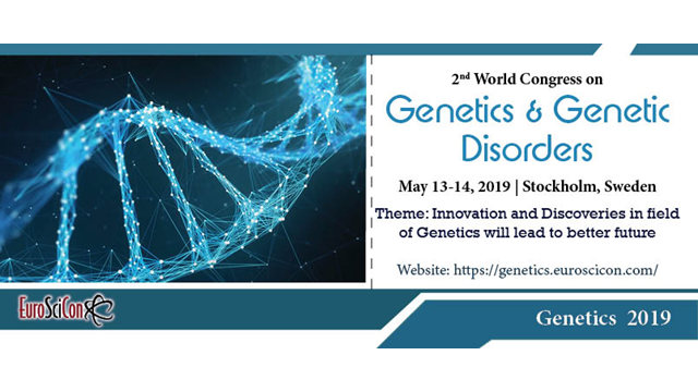 2nd World Congress on Genetics & Genetic Disorders