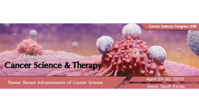 33rd Global Experts Meeting on Cancer Science and Therapy