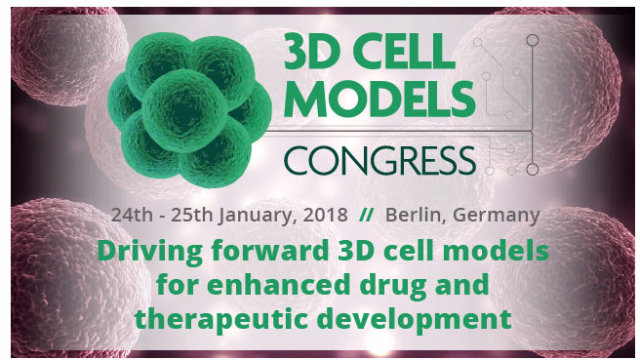 3D Cell Models Congress