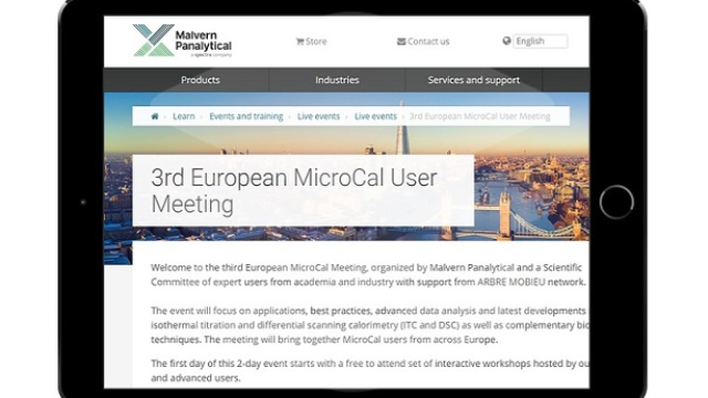 3rd European MicroCal User Meeting