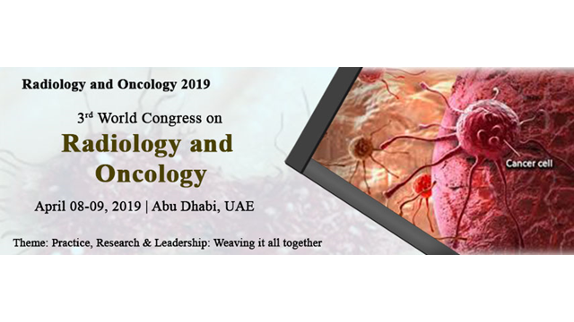 3rd World Congress on  Radiology and Oncology