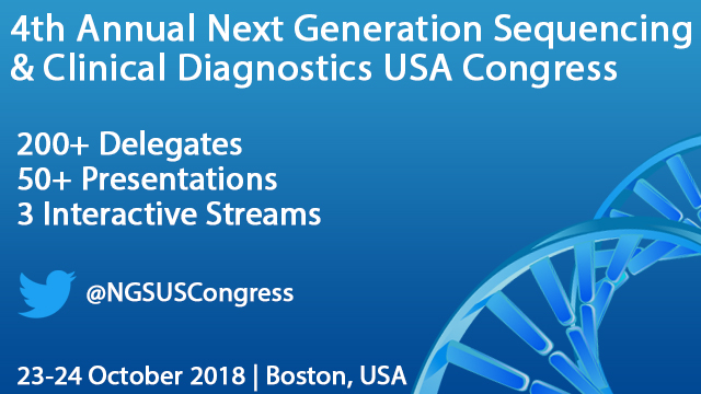 4th Annual Next Generation Sequencing & Clinical Diagnostics USA Congress