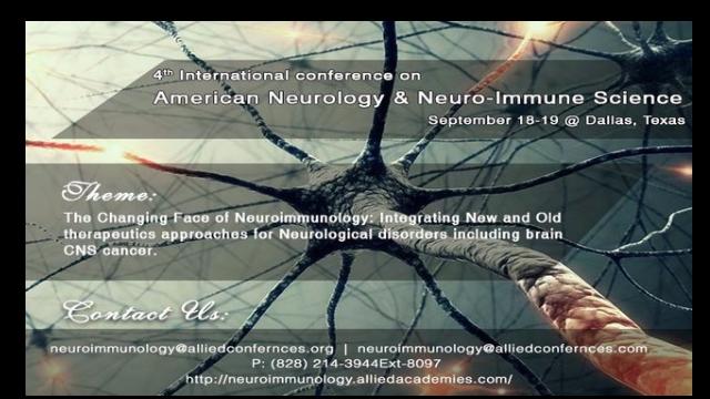 4th American Neuroscience & Neuro-Immune Congress
