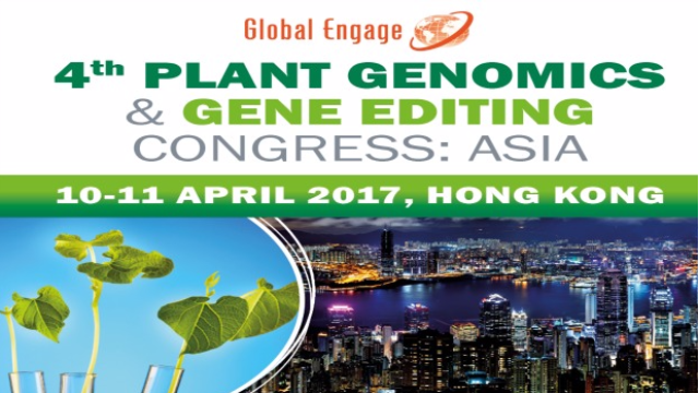 4th Plant Genomics Congress  & Gene Editing Congress: Asia