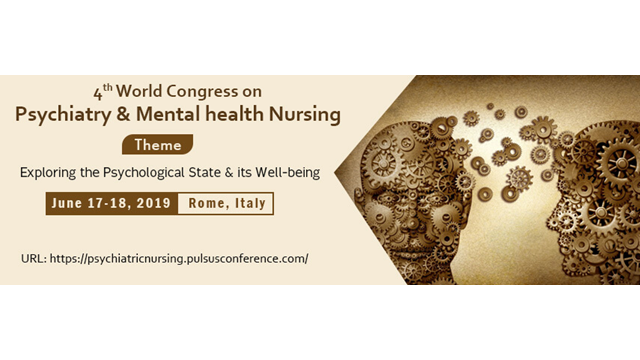 4th World Congress On Psychiatry Mental Health Nursing