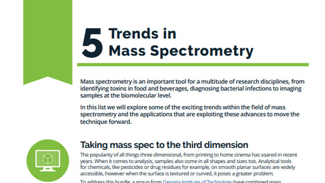 5 Trends in Mass Spectrometry