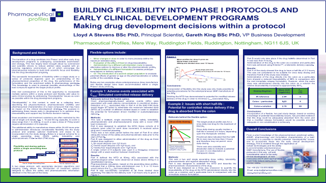 Building Flexibility ino Phase I Protocols and Early Clinical Development Programs