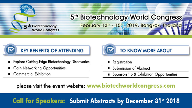5th Biotechnology World Congress