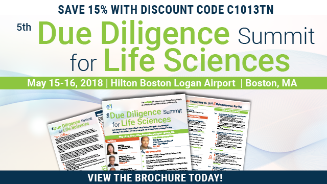 5th Due Diligence Summit for Life Sciences