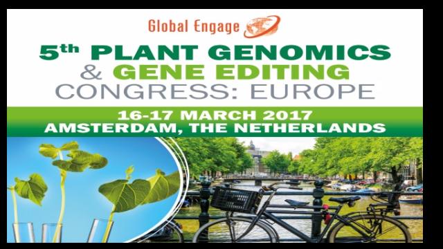 5th Plant Genomics & Gene Editing Congress Europe