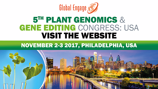 5th Plant Genomics & Gene Editing Congress - USA