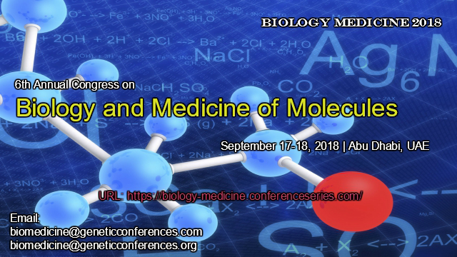 6th Annual Congress on Biology and Medicine of Molecules