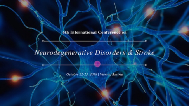 6th International Conference on Neurodegenerative Disorders and Stroke