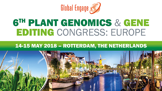6th Plant Genomics and Gene Editing Congress: Europe