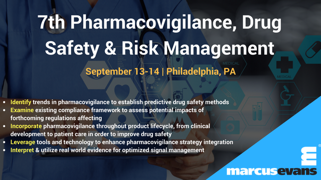 7th Pharmacovigilance, Drug Safety & Risk Management