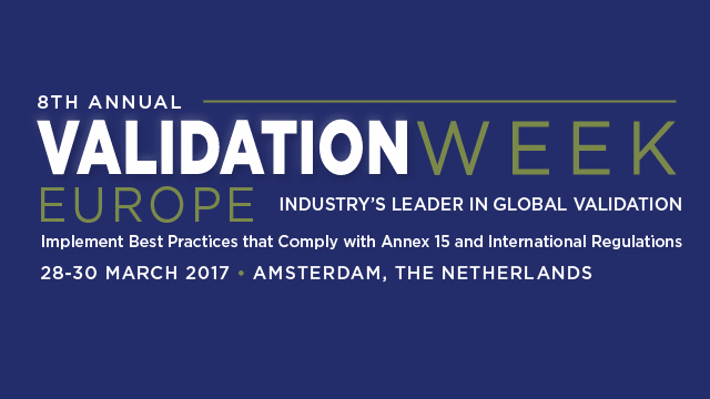 8th Annual Validation Week Europe