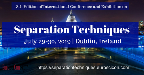 8th Edition of International Conference and Exhibition on Separation Techniques