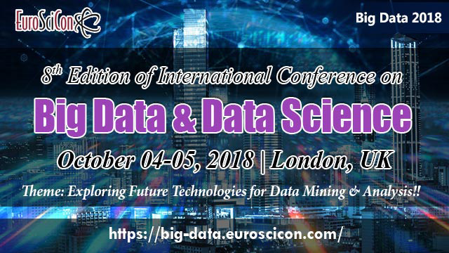 8th Edition of International Conference on Big Data & Data Science