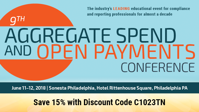 9th Aggregate Spend and Open Payments Conference