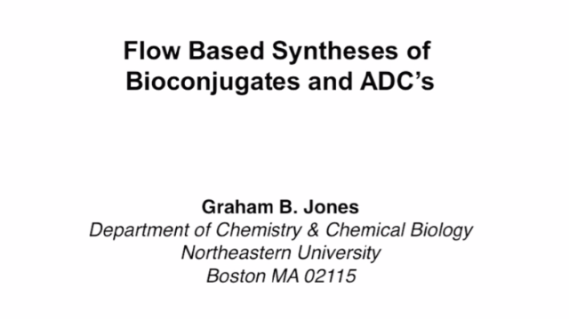 ADC Synthesis in Flow