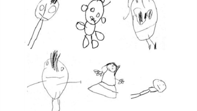 Children's drawings correlated with intelligence 10 years later