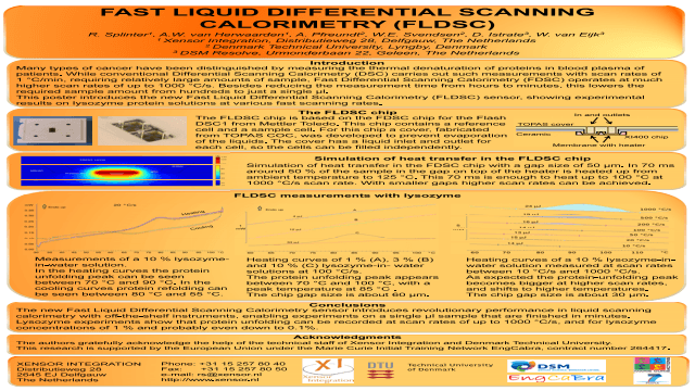 Fast Liquid Differential Scanning Calorimetry (FLDSC)