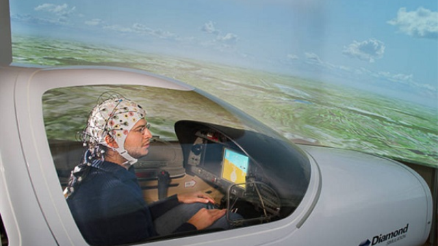 Researchers demonstrate brain-controlled flight