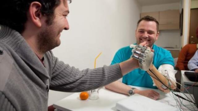 NEBIAS: The world's most advanced bionic hand