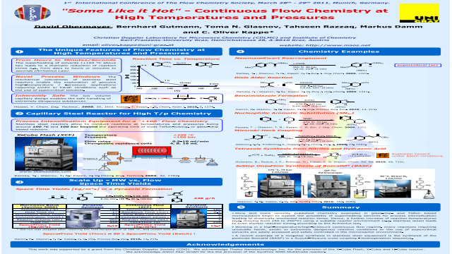 """Some Like it Hot"" - Continuous Flow Chemistry at High Temperatures and Pressures"