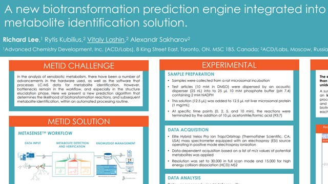 New Biotransformation Prediction Engine Integrated into a Metabolite Identification Solution